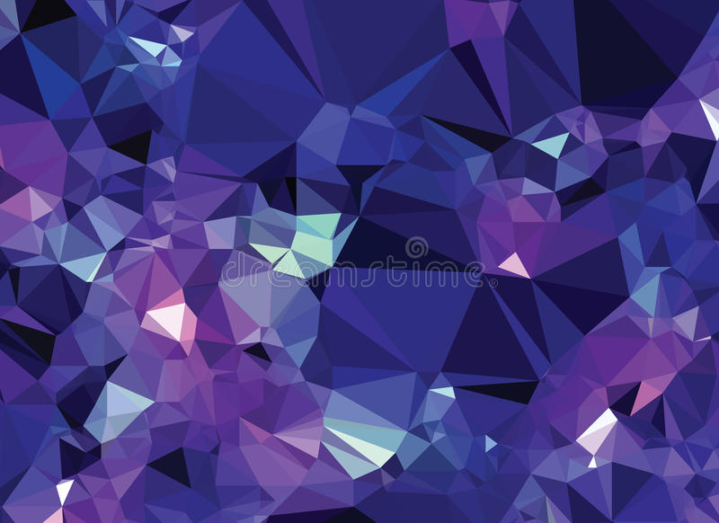 Purple Polygonal Abstract Background: Background Abstract Triangle Geometry Pattern Crystal