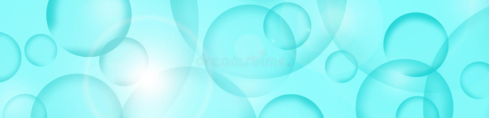 Background. Abstraction with colored circles royalty free illustration