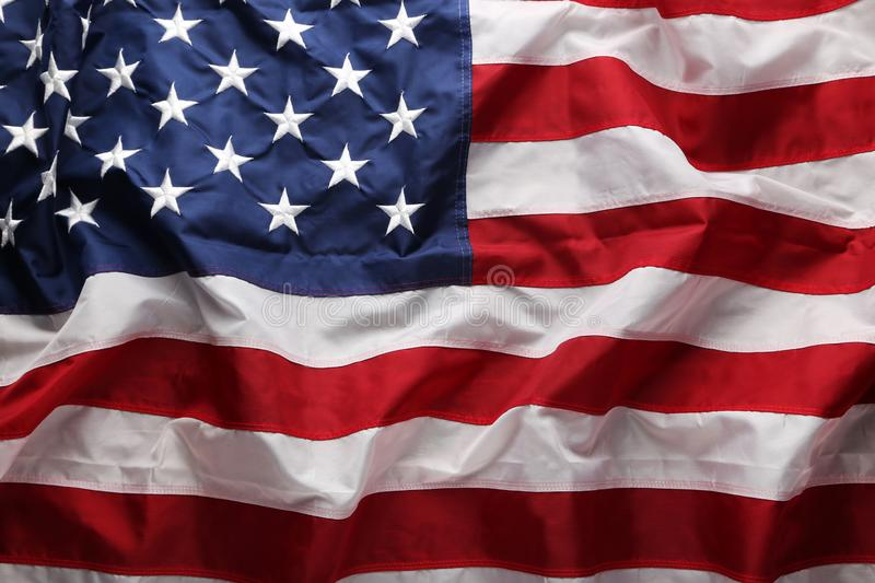 American flag. Background of the american flag stock photos