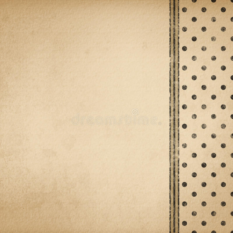 Download Background Antique French Paper Stock Illustration