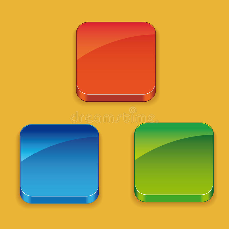 Download Background For The App Icons Stock Vector - Illustration: 28300075