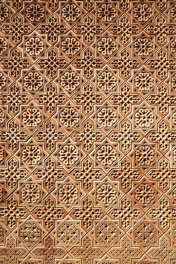 Background of Arabic pattern. Background of classical Arabic pattern stock photos