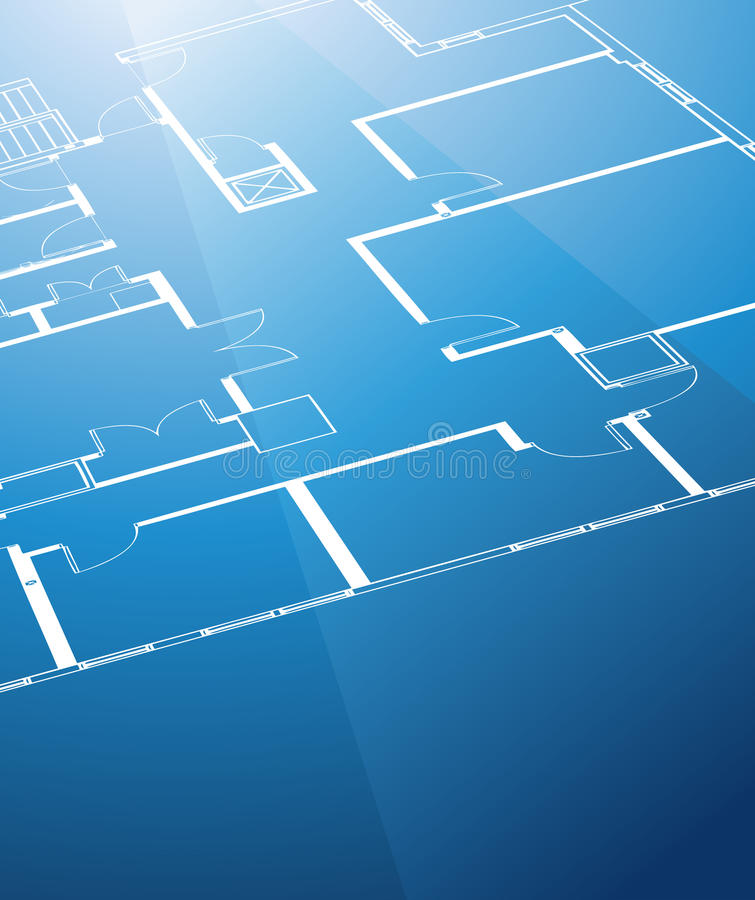 Download Background With Architecture Plan. Stock Photos - Image: 11994613