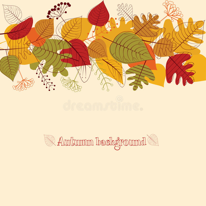 Download Background From Autumn Leaves. Stock Photo - Image: 27020440