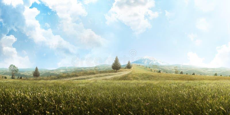 Background. Beautiful mountain landscape. Travel. Tourism. Adventure. Hike. Panorama stock image