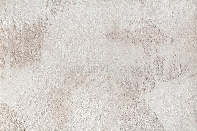 Background - beige plaster, decorative wall coverings stock photo