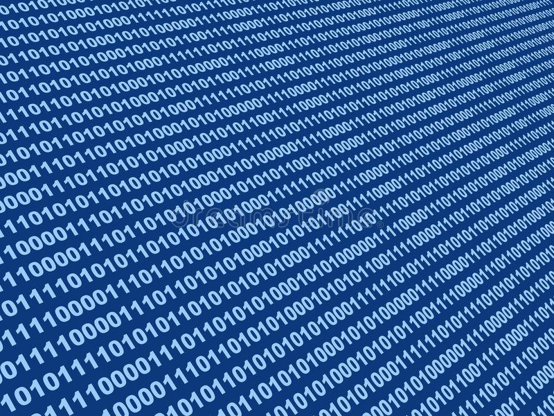 Background - binary code stock photo