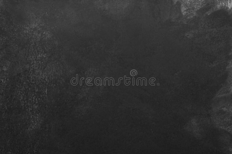 Background black board for text, texture blackboard stock photography