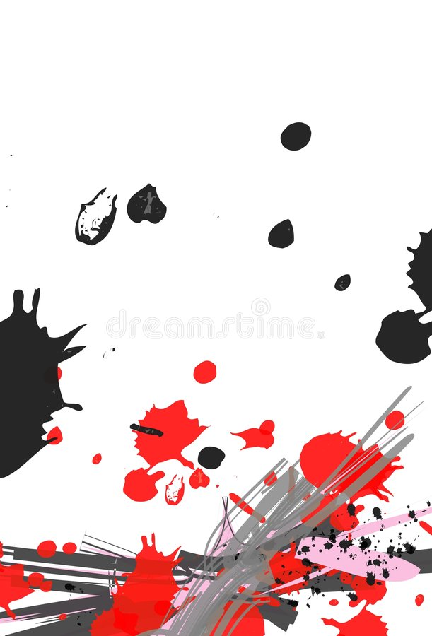 background black chinese red иллюстрация вектора