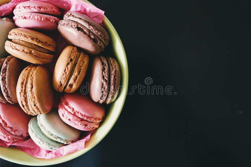 Background, Black, Colors, Cookies, royalty free stock photography