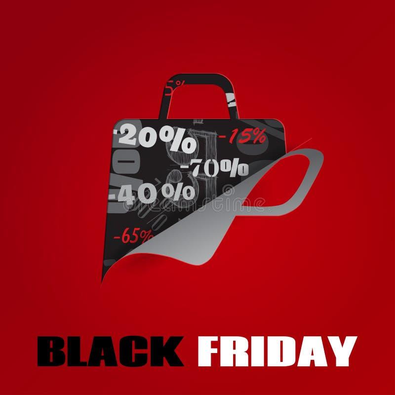 Background On Black Friday Royalty Free Stock Image