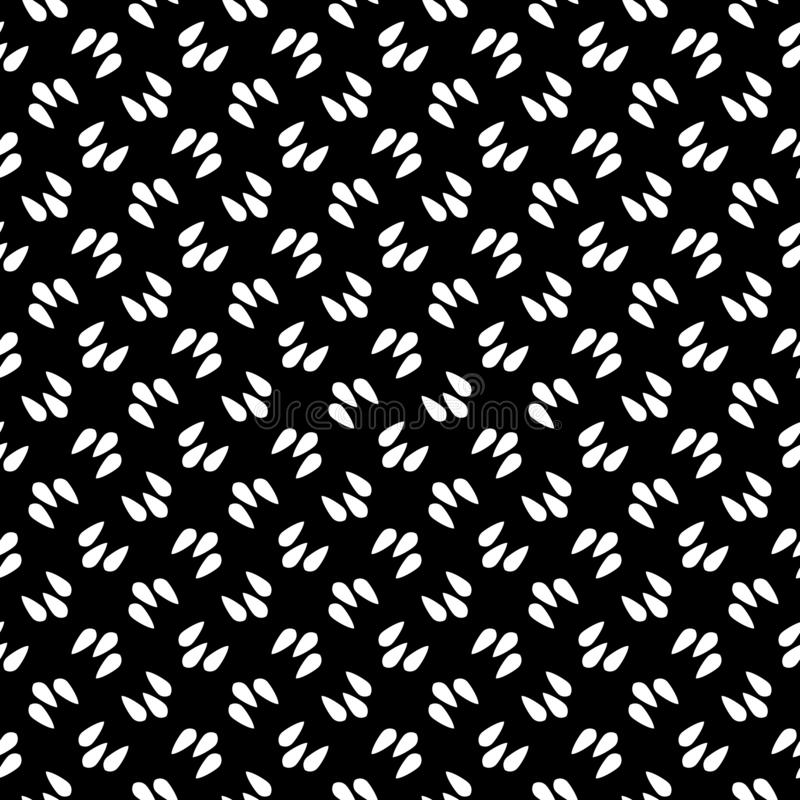 Decorative flower black and white seamless repeated geometric pattern background. Textile, books,. Seamless,geometric repeated,printing,bed sheet,domestic vector illustration