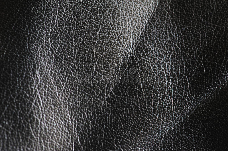 Background of black leather 2 royalty free stock photos