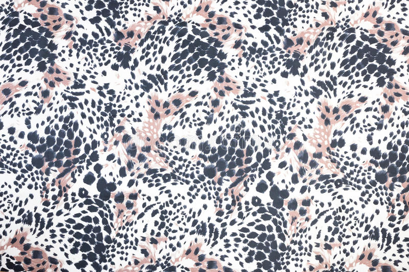 Background of black spotted animal fur print royalty free stock photography