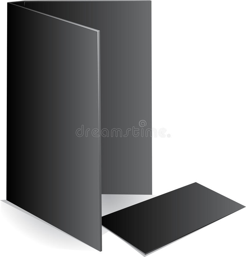 Download Background Black Visit Card And Document Case Stock Vector - Image: 12821981