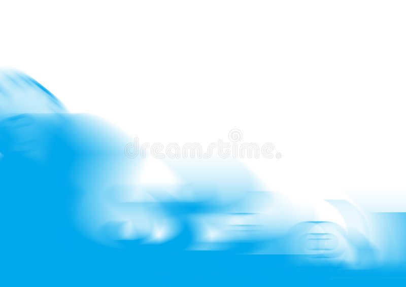 Background blue abstract wave stock photography