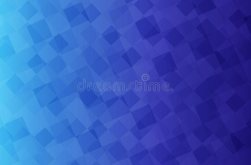 Background with blue cubes. Background with little blue cubes vector illustration