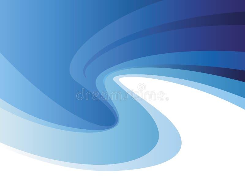 Background Of Blue Flex Royalty Free Stock Photos