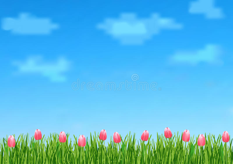 green grass blue sky flowers back ground green grass blue sky flowers simple download background with clouds green grass blue sky flowers simple download background with