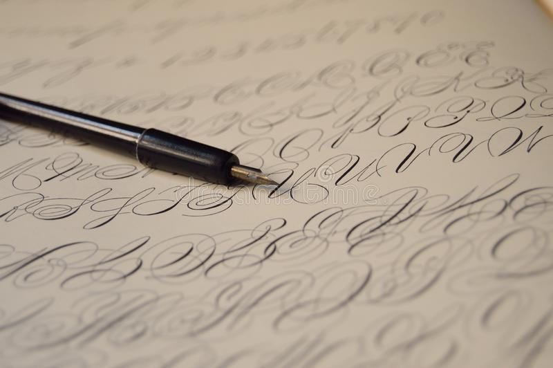 Background, Blur, Calligraphy stock images
