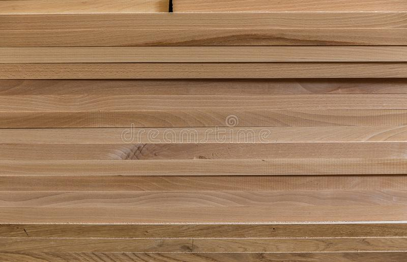 Background of boards. wood construction material for background and texture. Wood processing. Joinery work. wooden furniture. a ti stock photos