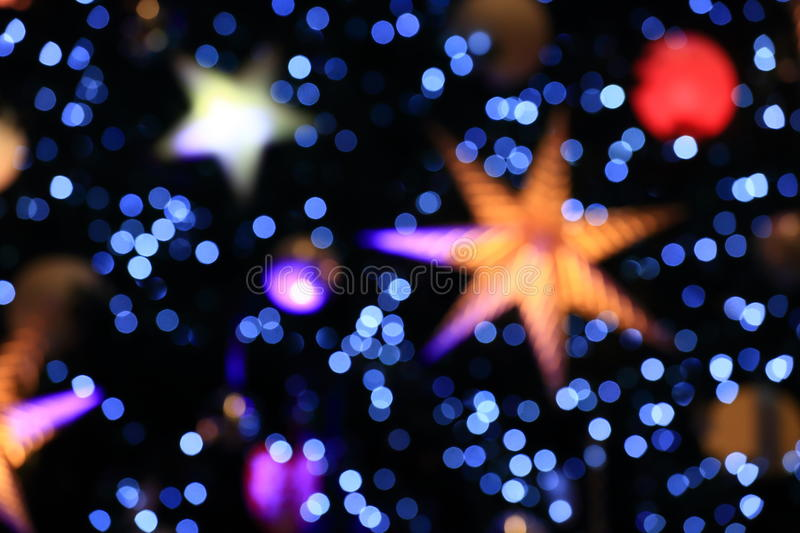 Background of Bokeh from Christmas light stock images