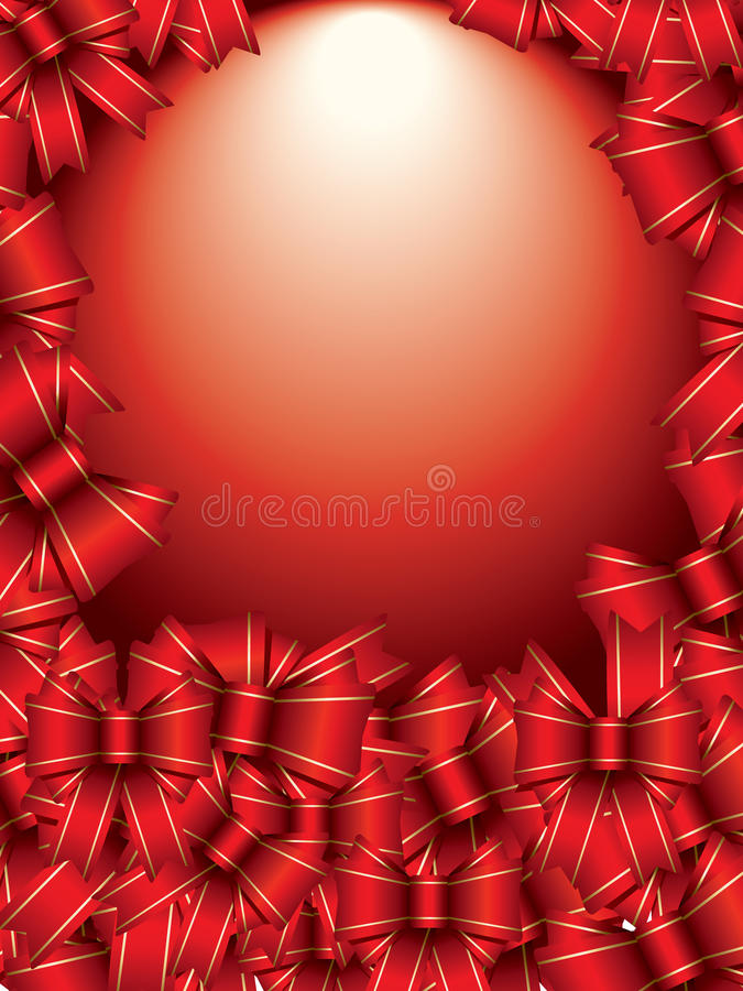 Download Background with bows stock vector. Image of light, stack - 18020501