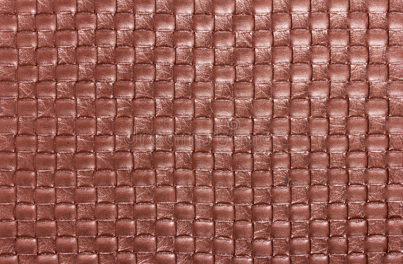 Background of braid textile leather texture. Closeup. Macro stock images