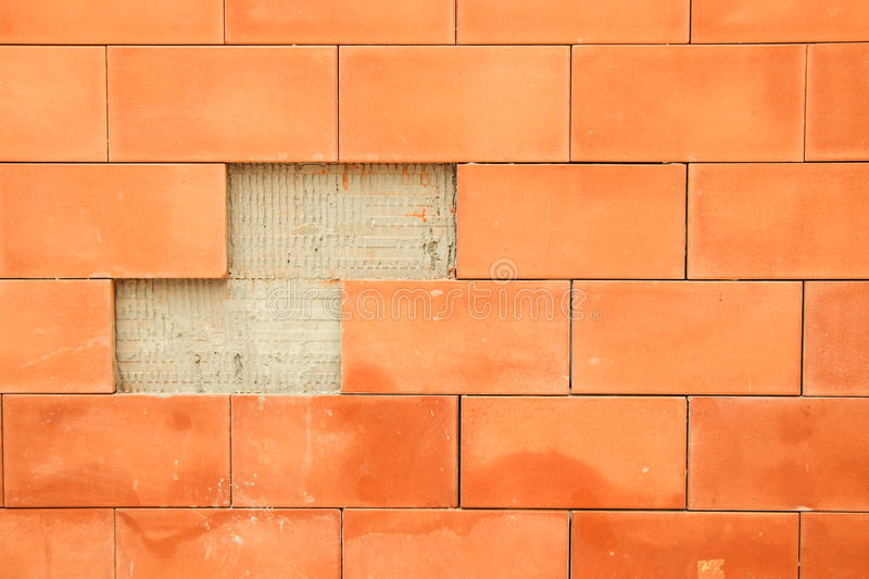 Background Brick Broke Stock Image