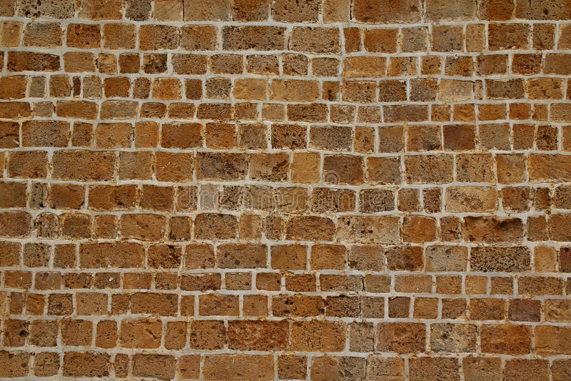 background of brick wall texture from jerusalem stone stock photography