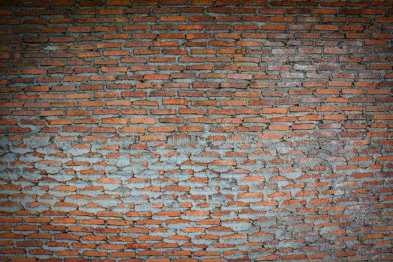 Background of brick wall texture. Background of red brick wall texture stock images