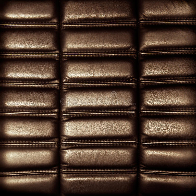 Download Background Brown Leather Upholstery Stock Photo - Image: 28673814