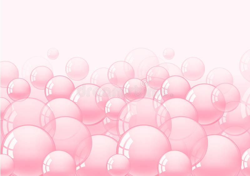 Background with bubble gum. Background with pink bubble gum illustration vector illustration