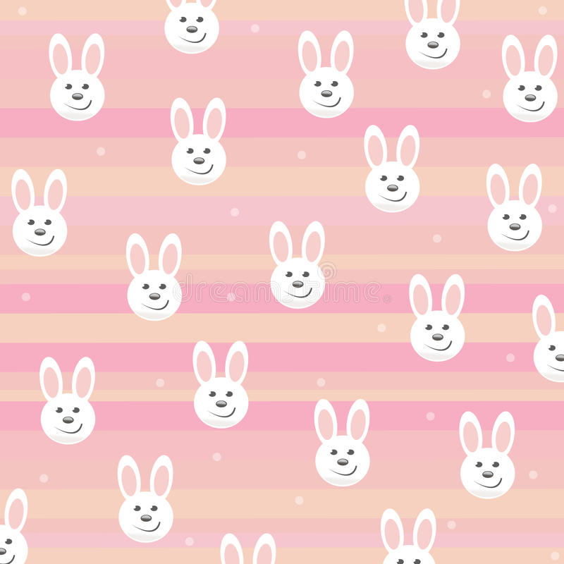 Background with bunnies royalty free stock images