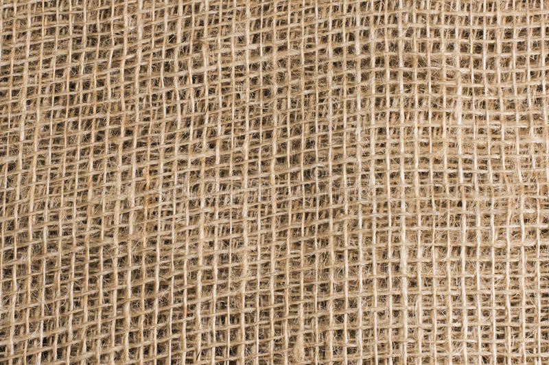 The background of burlap royalty free stock photo