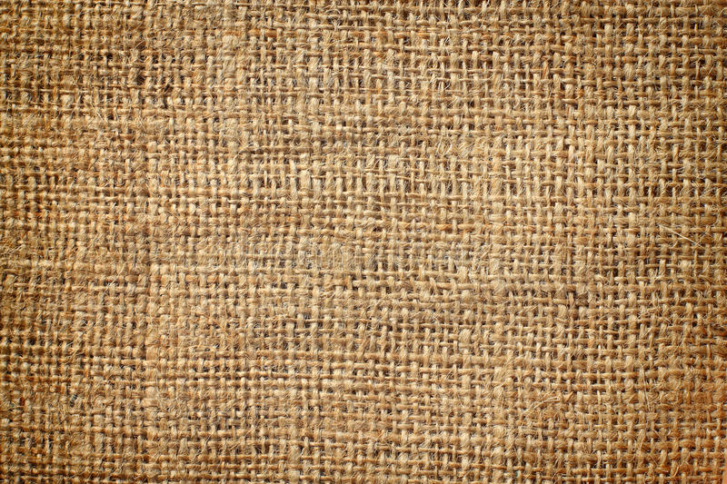 Background of burlap hessian sacking. Texture stock photography