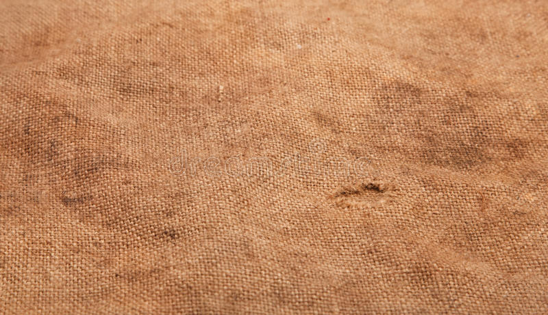 Background of burlap hessian sacking. Texture royalty free stock image