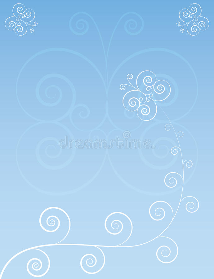 Download Background With Butterflies Royalty Free Stock Images - Image: 26353899