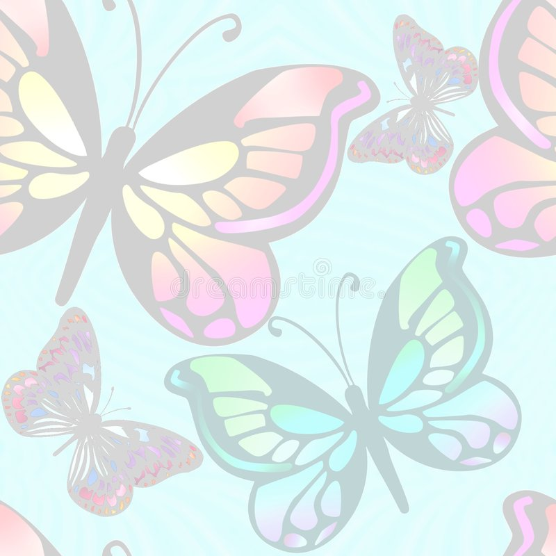 Download Background Butterflies Light Stock Illustration - Image: 5497957