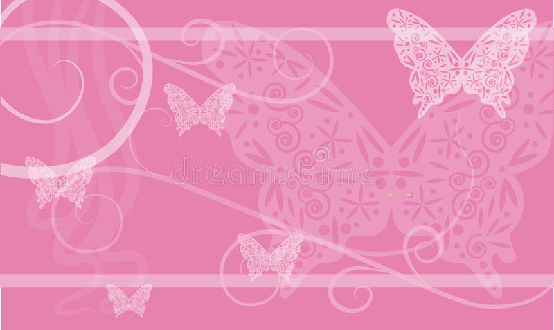 Background With Butterfly Royalty Free Stock Image