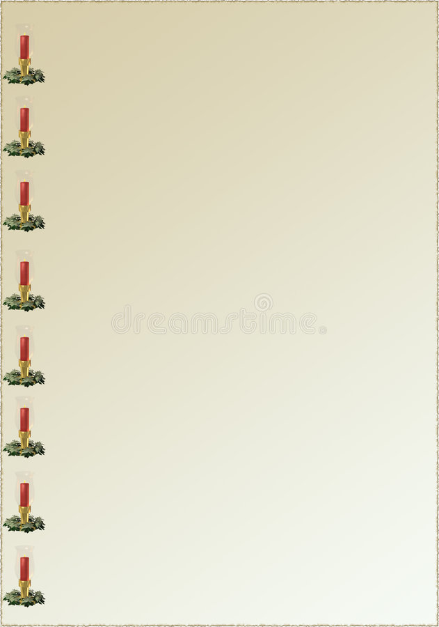 background candle διανυσματική απεικόνιση
