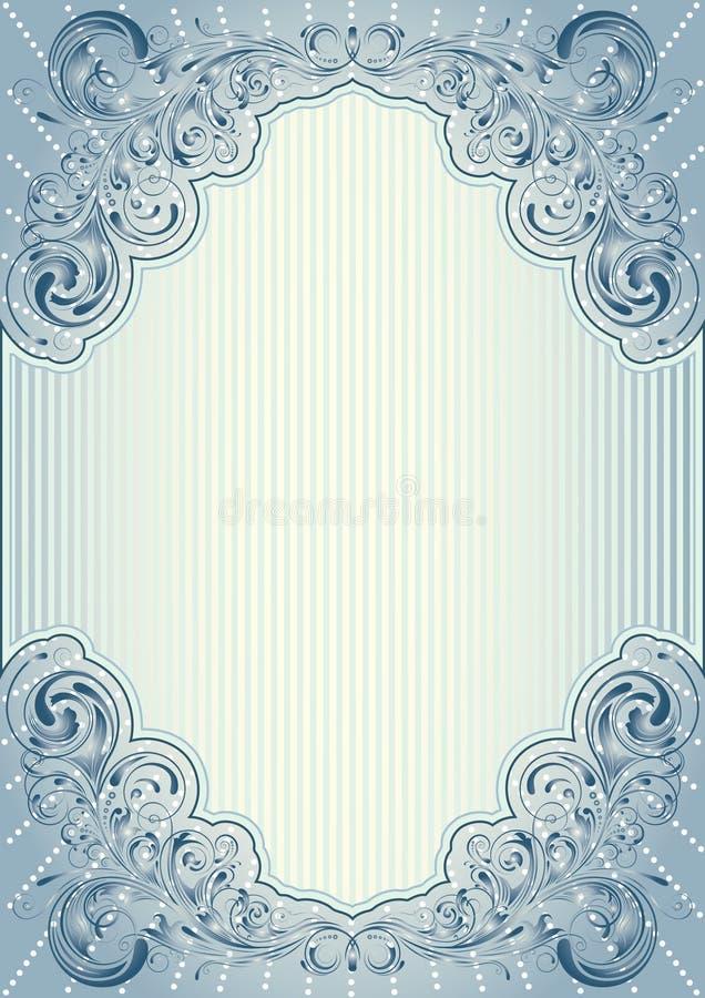background card congratulation invitation royaltyfri illustrationer