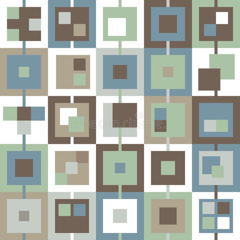 Download Background In The Cell Blue Green Brown White Gray Stock Vector - Image: 34605515