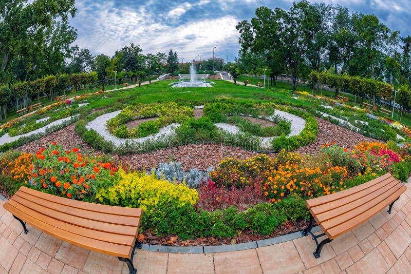 Central Park from Timisoara, Romania. Background in Central Park from Timisoara, Romania royalty free stock photo