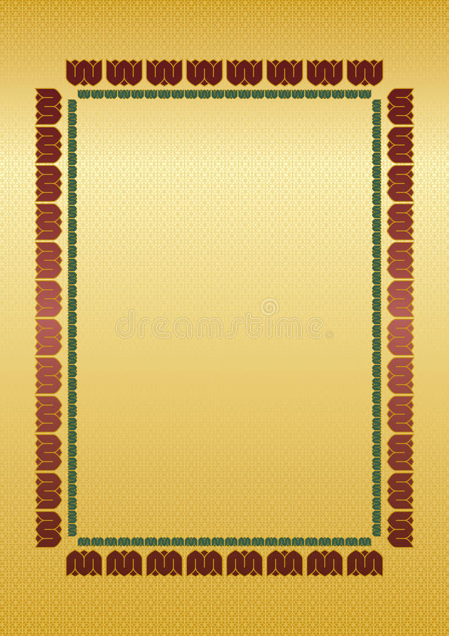Background Certificate With Frame Royalty Free Stock Image
