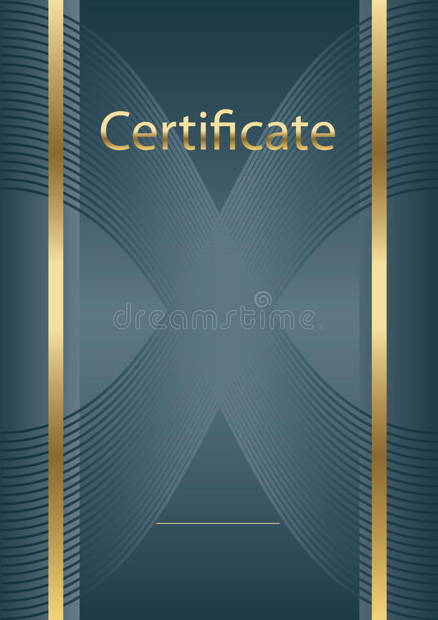 Background certificate model royalty free stock photography