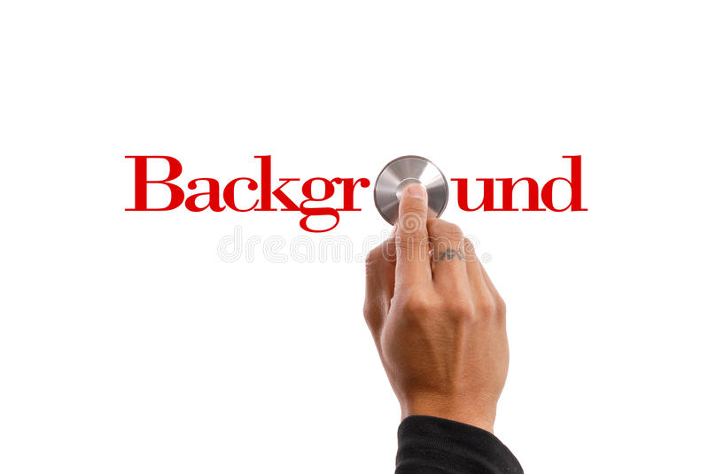 Background Check Stock Photo