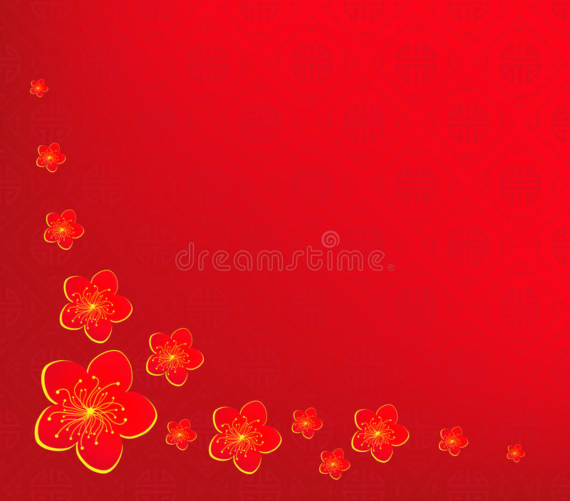 Background chinese new year vector illustration