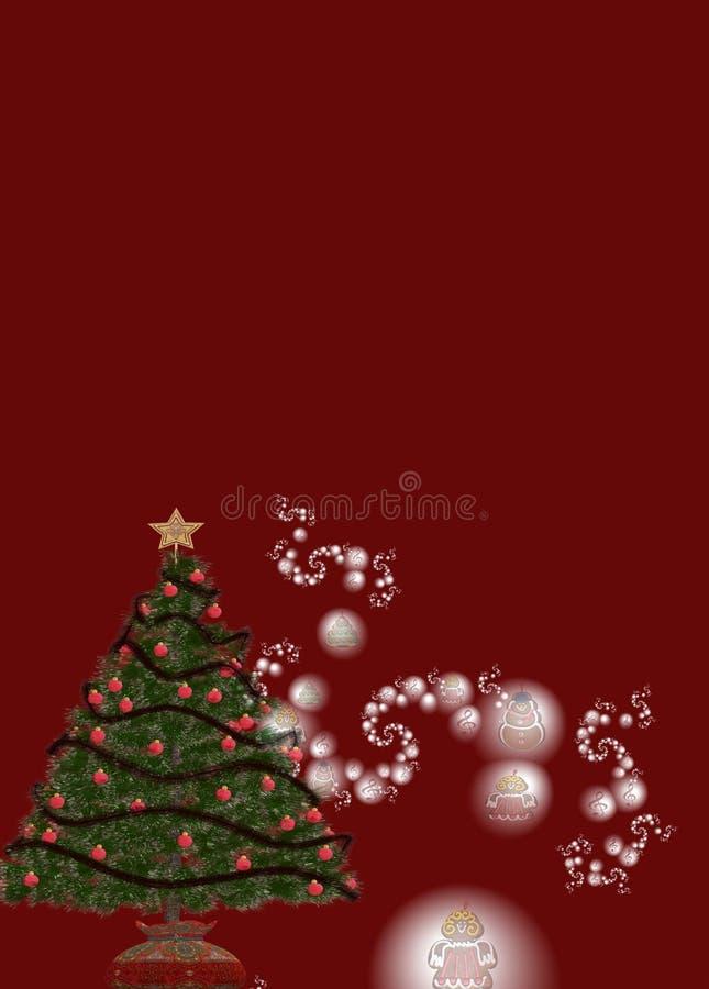 background christmas απεικόνιση αποθεμάτων