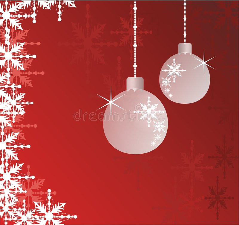 background christmas διανυσματική απεικόνιση